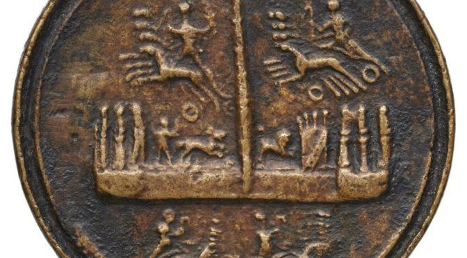 Mise en ligne des médaillons romains contorniates de la BnF