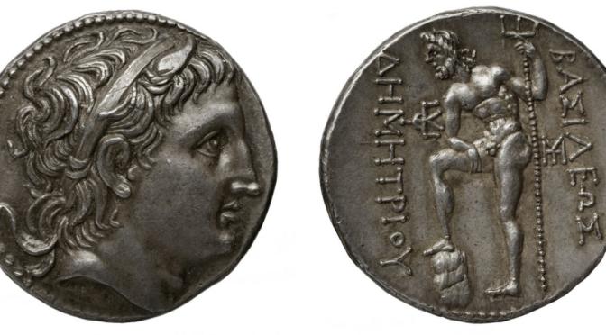 Les monnaies de Démétrios Poliorcète intègrent le portail AGCO