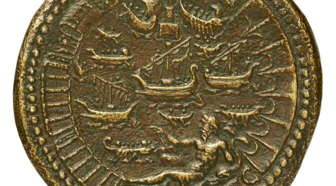 Archive : image du mois d'avril 2021. Ostie, complexe portuaire antique de Rome