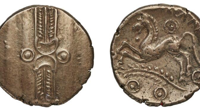 Les monnaies britonniques de la BnF intègrent le portail Iron Age Coins in Britain (IACB)