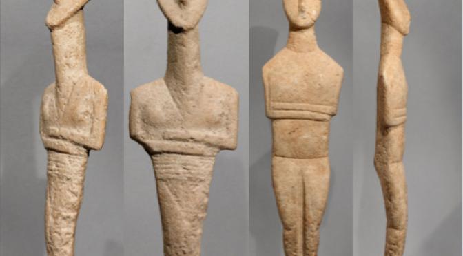 #Retour au Musée – La BnF hors les murs #5: IDOLES, L'Art des Cyclades et de l'Anatolie à l'Âge de bronze